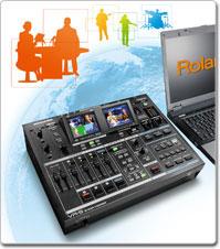 Roland Pro A/V - VR-5 | AV Mixer & Recorder