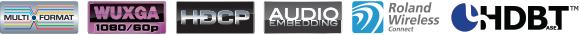 Roland XS-Series Logos