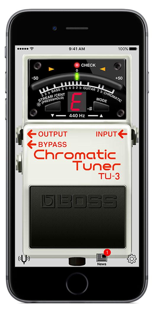 BOSS - BOSS Tuner App | Chromatic Tuner App
