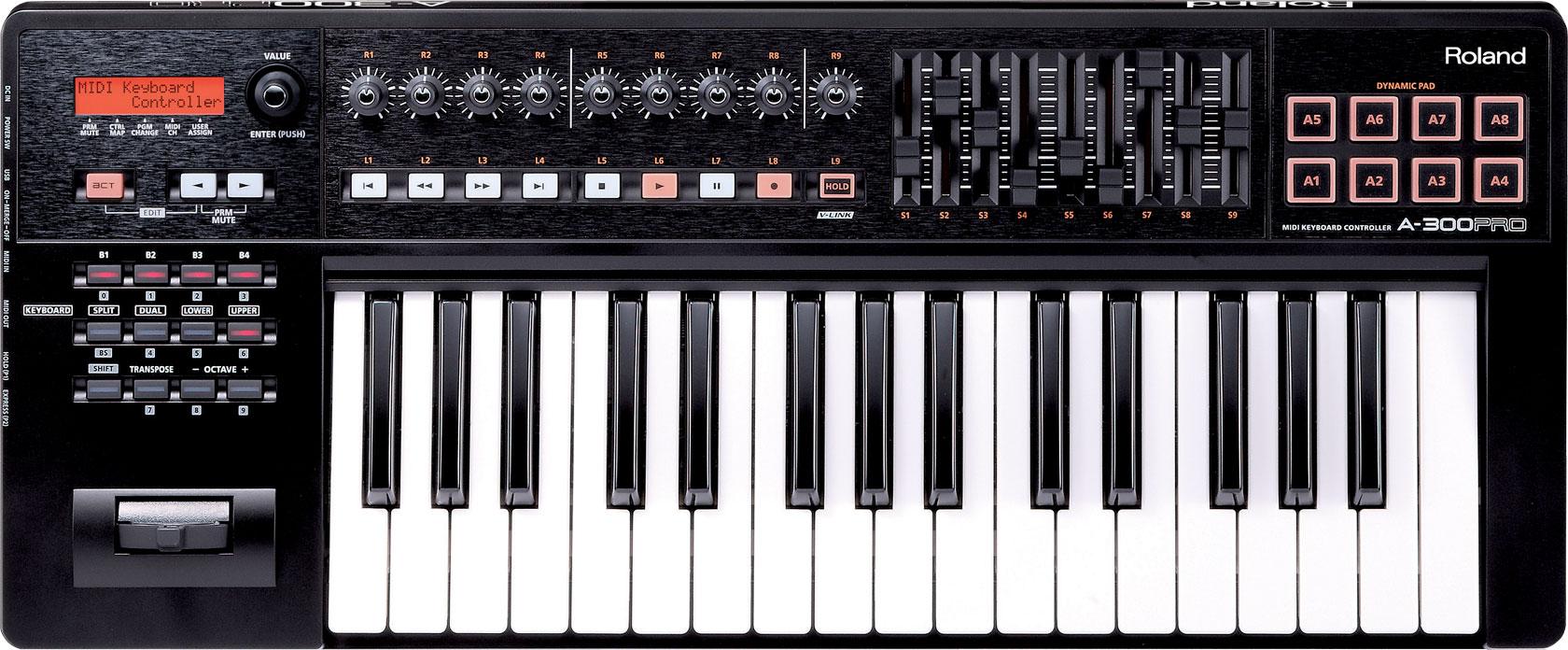 Roland - A-300PRO | MIDI Keyboard Controller