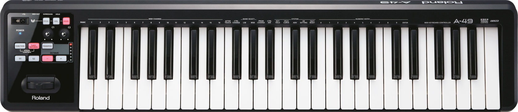 Driver for Roland A-49 Keyboard