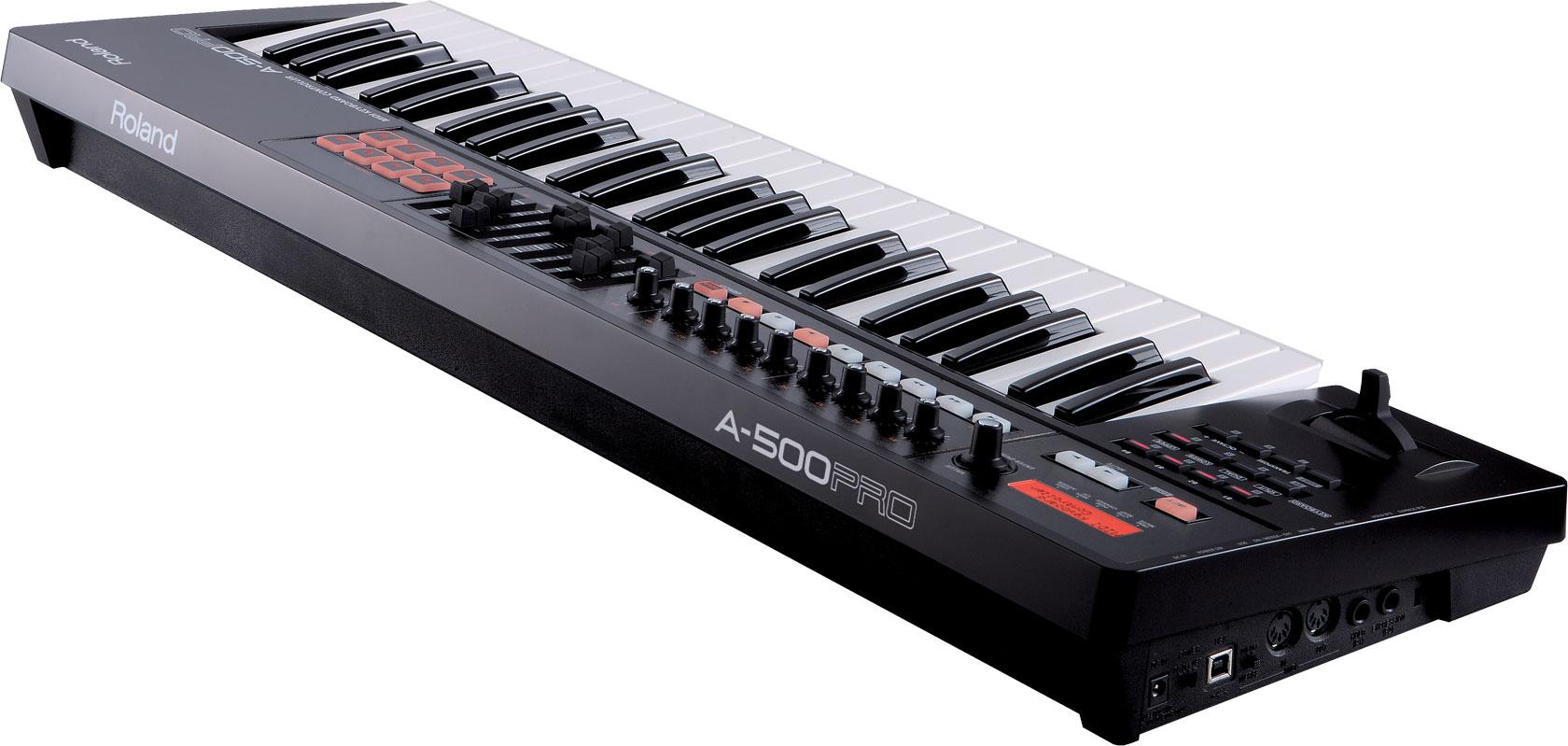 roland a 500pro midi keyboard controller. Black Bedroom Furniture Sets. Home Design Ideas