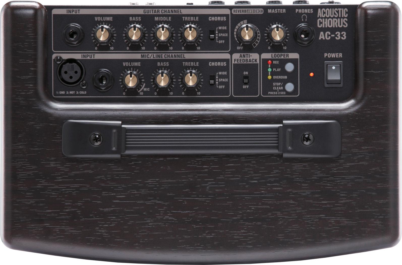 roland ac 33 acoustic chorus guitar amplifier rh roland com roland ac-33 manual pdf roland a-33 manual