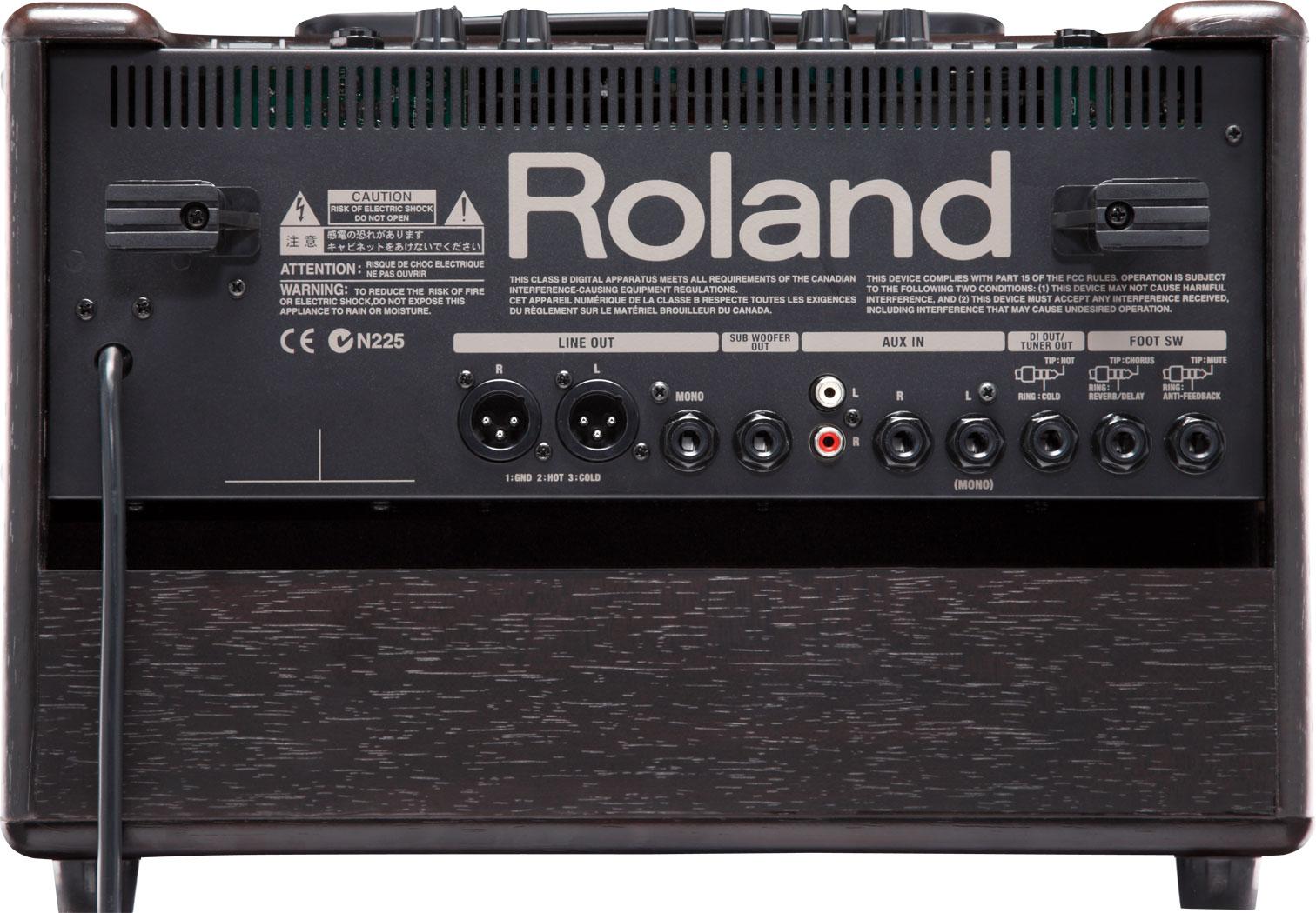 Roland Ac 60 Acoustic Chorus Guitar Amplifier Amp Input Jack Wiring