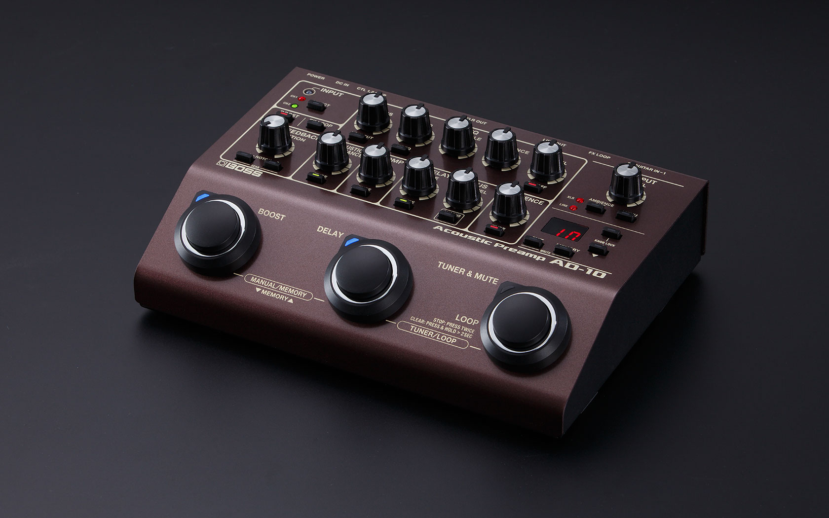 BOSS - AD-10 | Acoustic Preamp