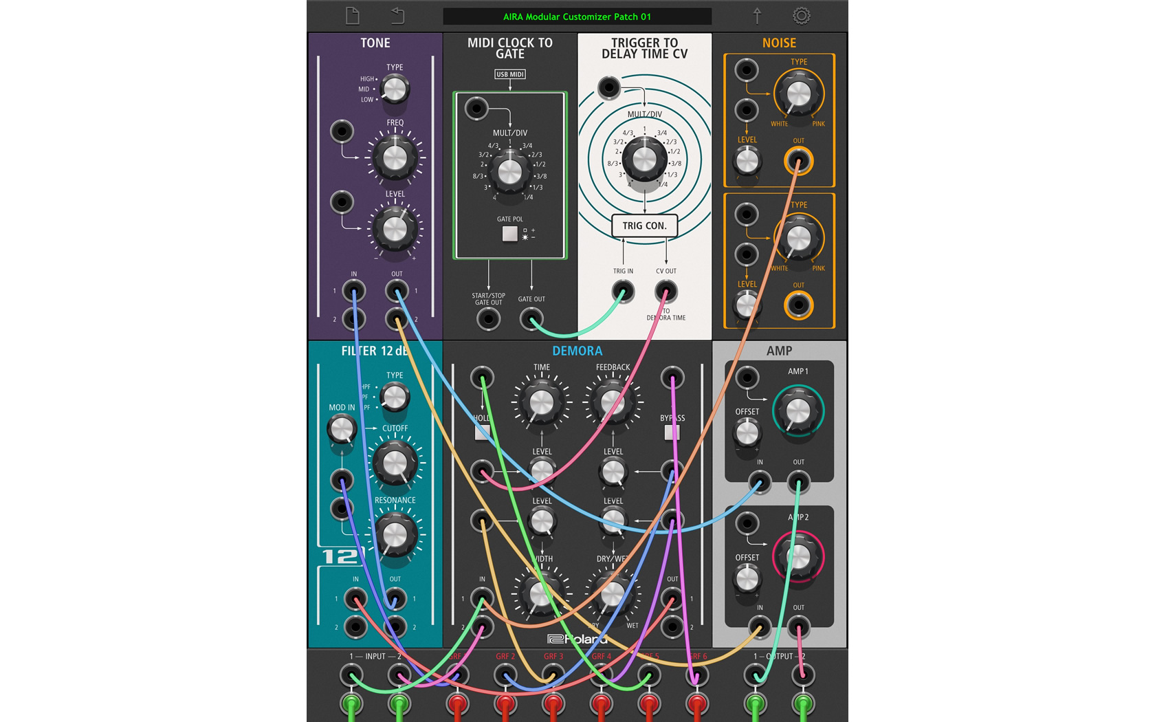 roland aira modular customizer aira modular customizer