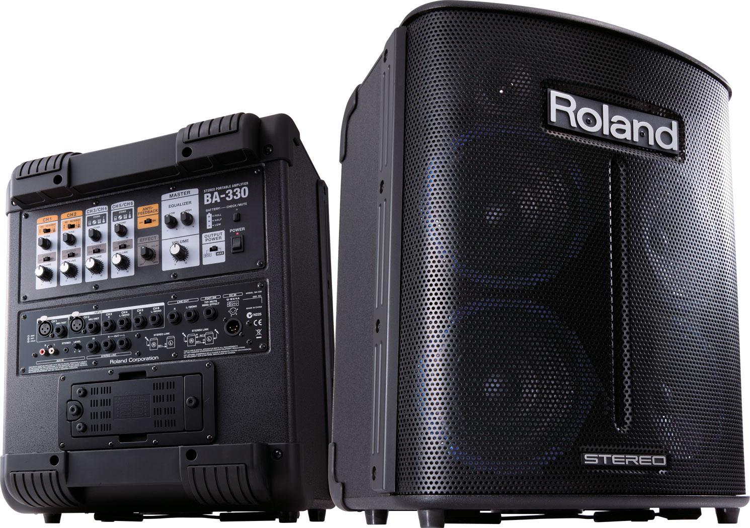 roland ba 330 stereo portable amplifier rh roland com  Used Roland BA-330