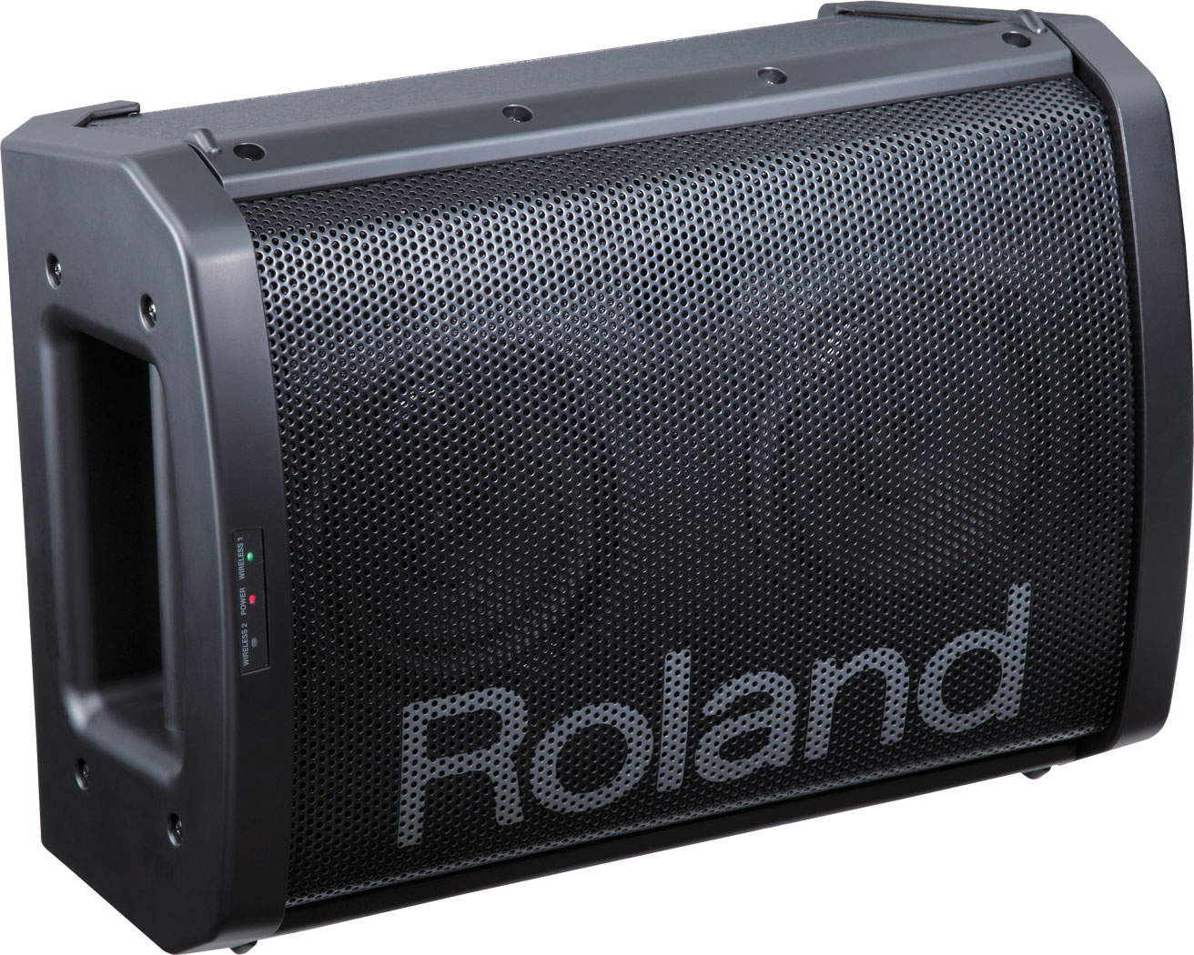 roland ba 55 battery powered portable amplifier. Black Bedroom Furniture Sets. Home Design Ideas