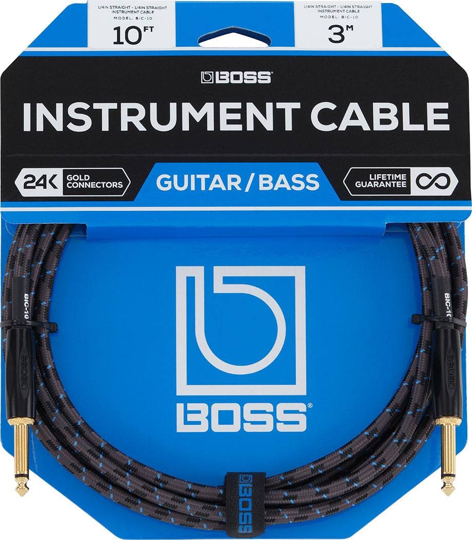 BOSS - BIC-10 | Cabo de instrumento