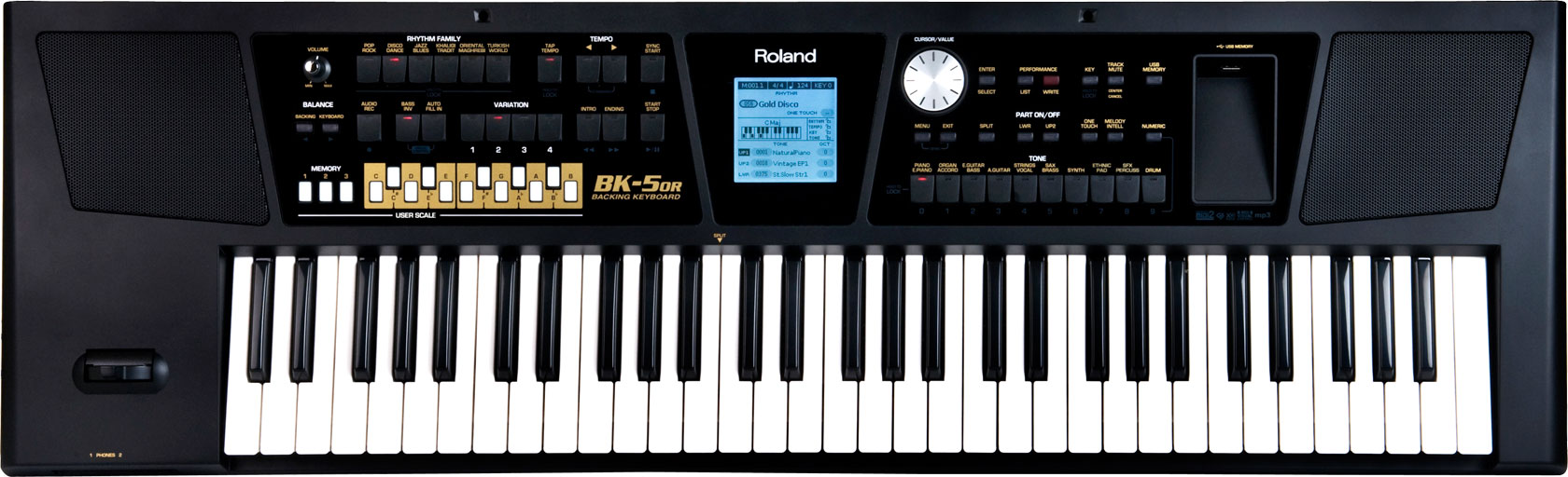BK-5 OR | Backing Keyboard - Roland