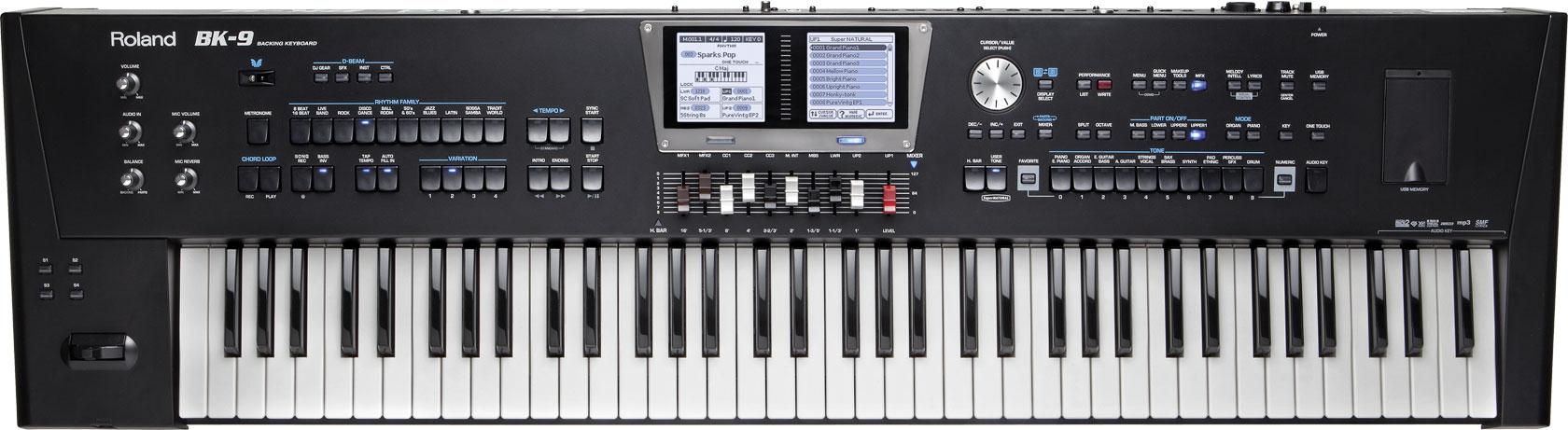 BK-9   Backing Keyboard - Roland