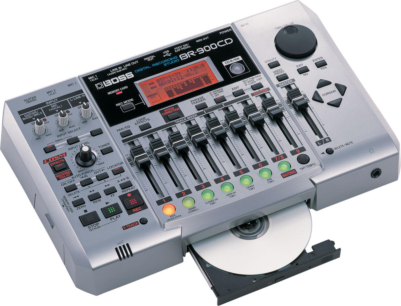 BOSS - BR-900CD   Digital Recorder