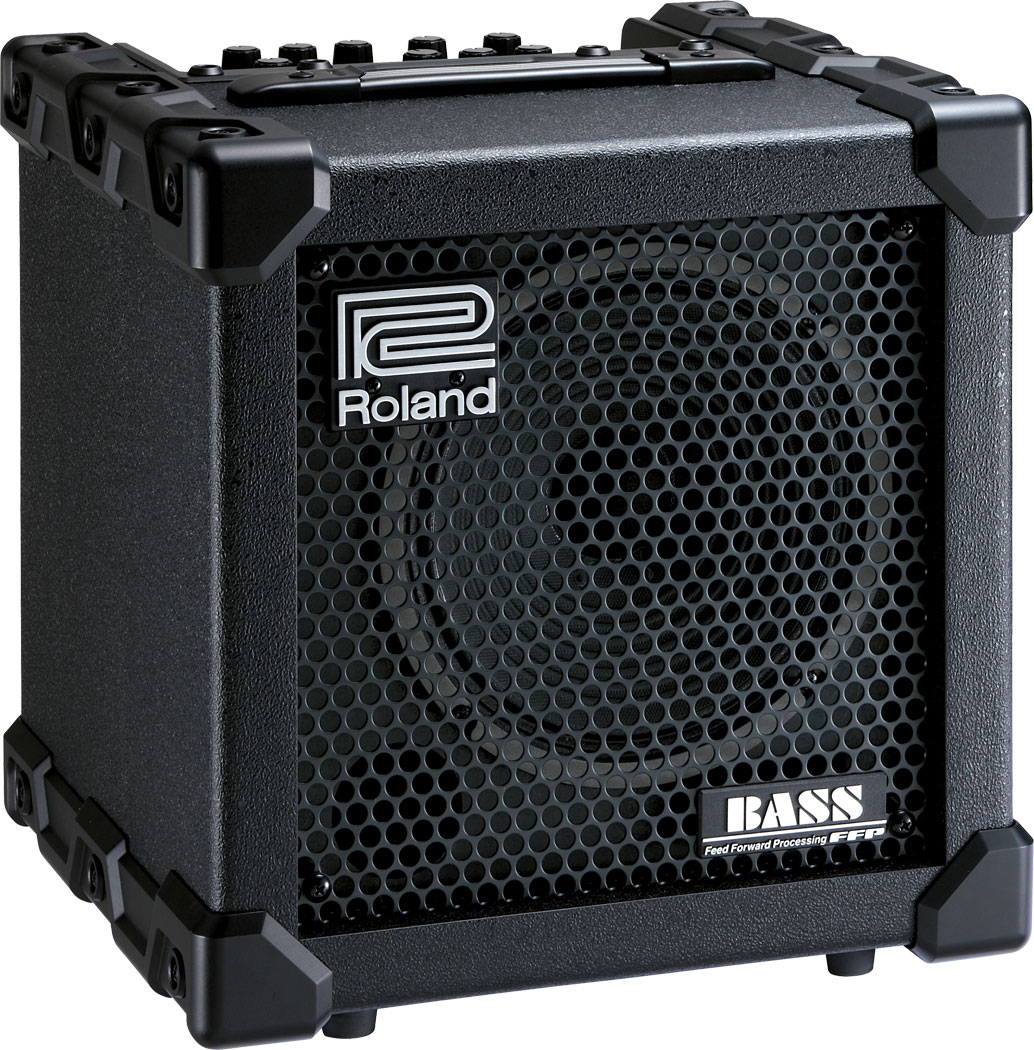 Roland Cube 20xl Bass Amplifier Guitar Or Music Home Stereo Powered Subwoofer