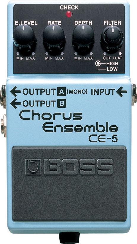 Moen AM CH Pedal Chorus Rate Depth Control Electric Guitar