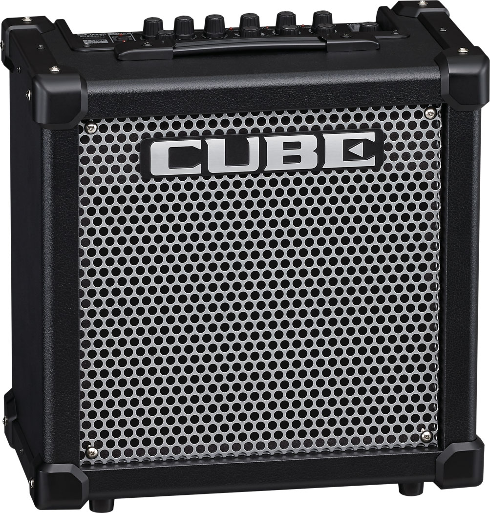 Roland Cube 20gx Guitar Amplifier Two Way 20 Watts Audio