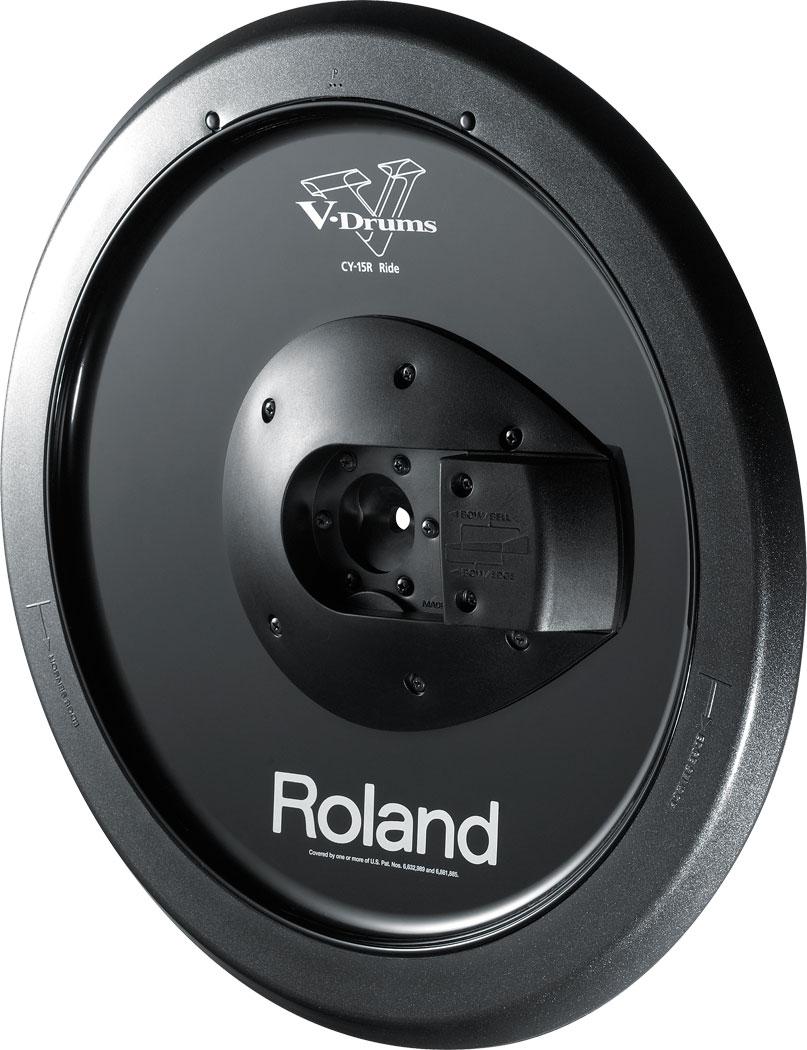Roland CYM-10 Cymbal Parts Set Value B Roland CY-15R V-Cymbal 15 Ride Black