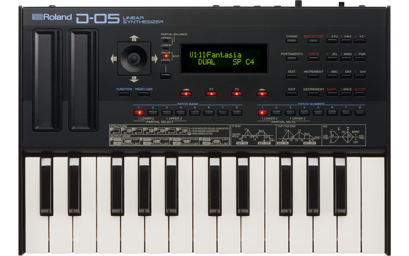roland d 05 linear synthesizer rh roland com roland d-5 manual Roland D5 Keyboard