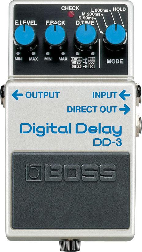 boss dd 3 digital delay rh boss info boss digital delay dd 5 manual Boss DD 5 Review