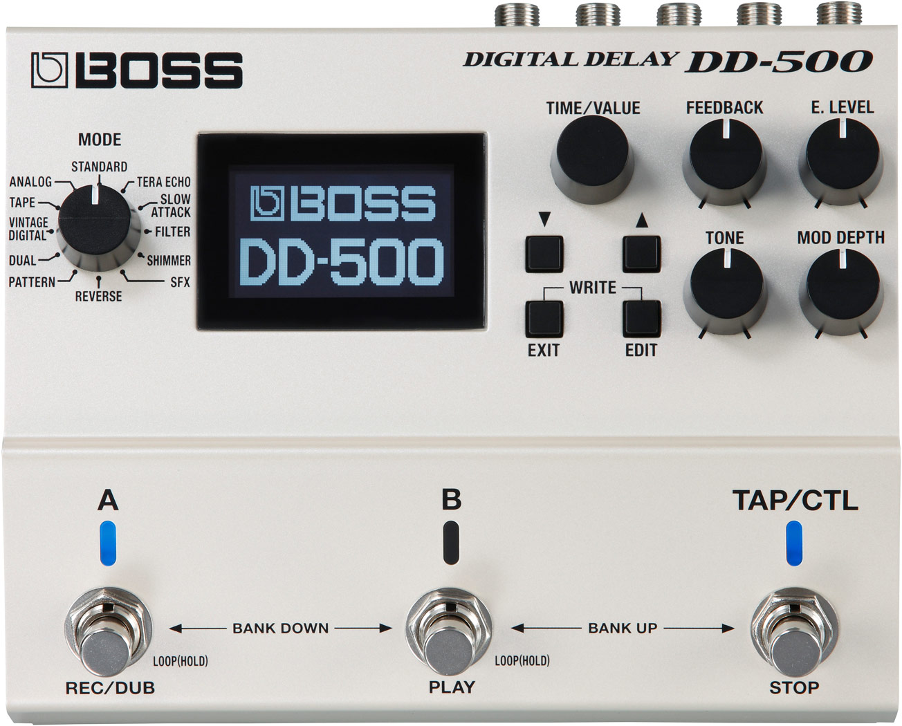boss dd 500 digital delay rh boss info Reverb Pedal boss pedals manual
