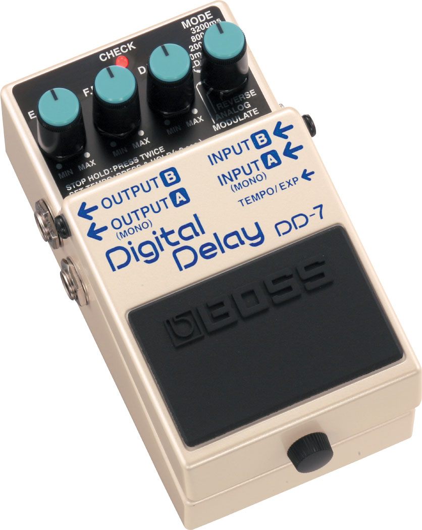 Boss Dd 7 Digital Delay Electronic Lamp Switch Including Time Option