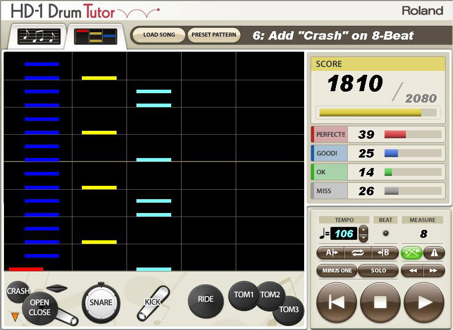 Roland Dt 1 V Drums Tutor скачать