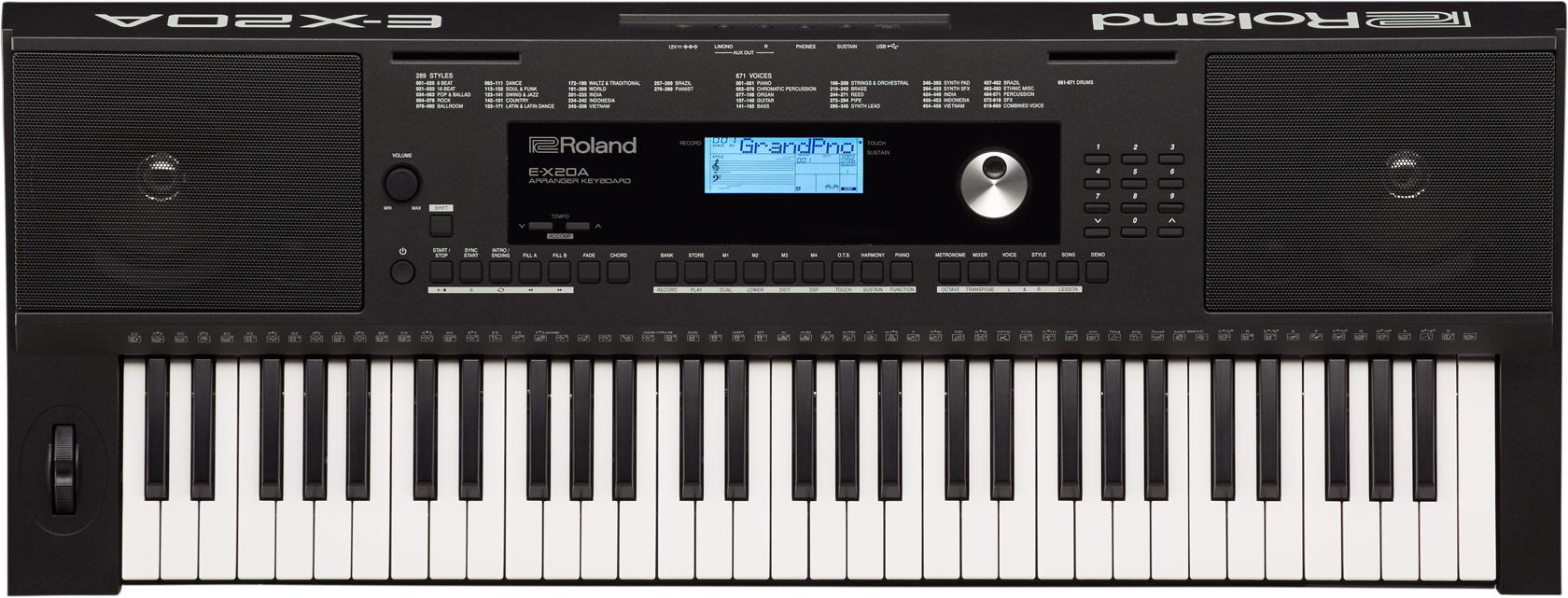E-X20A | Arranger Keyboard - Roland
