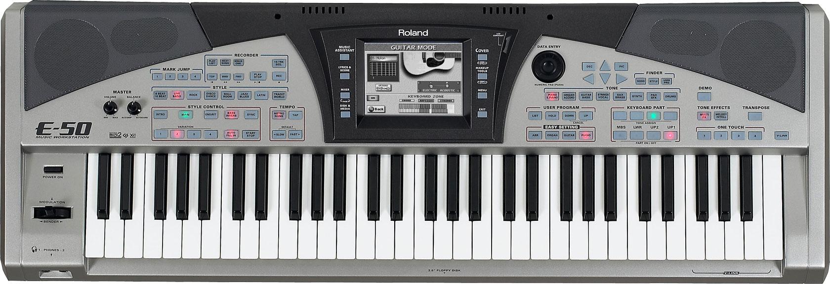 Стили для синтезатора roland