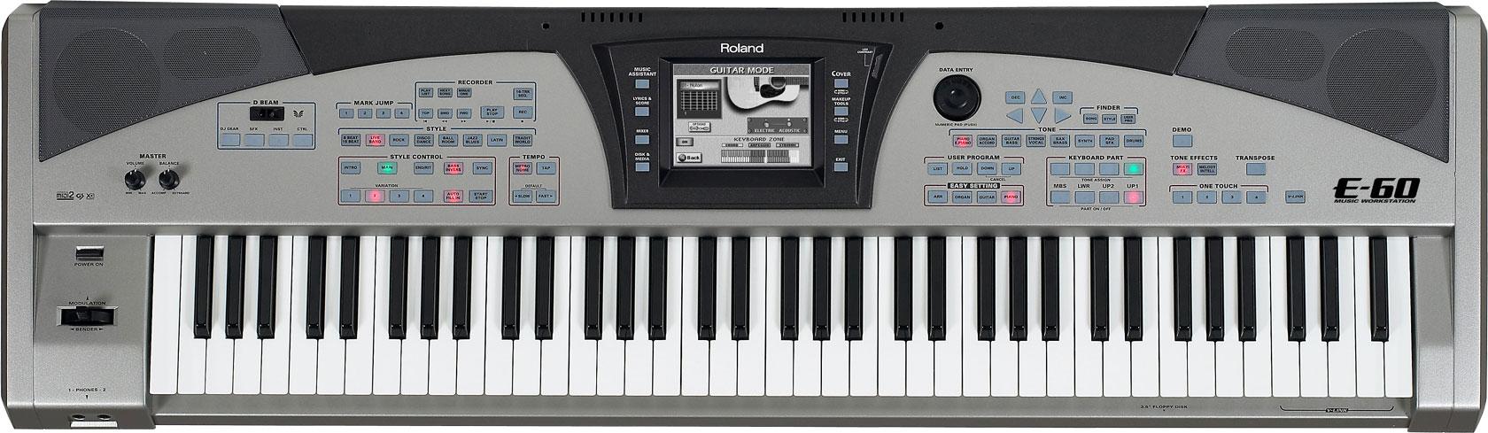 Roland - E-60 | Music Workstation