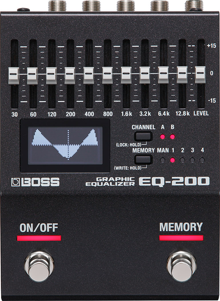 EQ-200 | Graphic Equalizer - BOSS