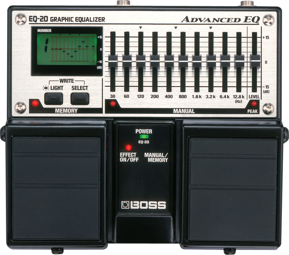 EQ-20 | Advanced EQ - BOSS