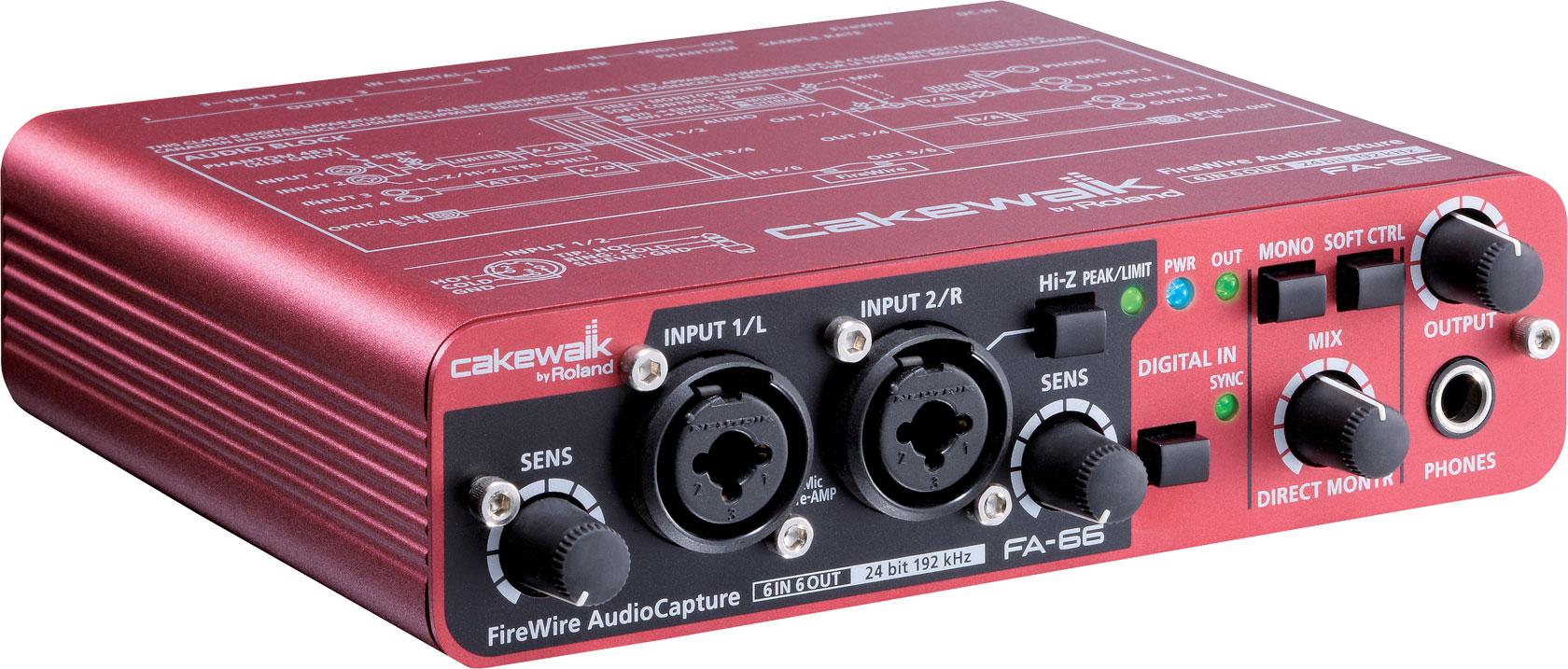 Roland - FA-66 | FireWire Audio Interface