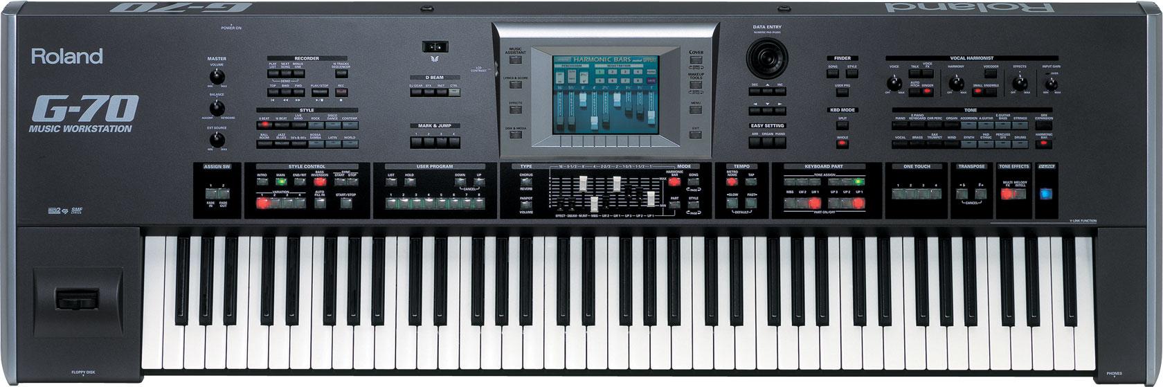 G-70 | Music Workstation - Roland