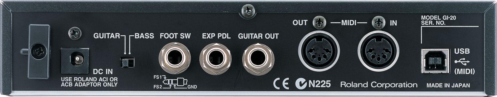 roland gi 20 gk midi interface rh roland com Roland Guitar to Midi Converter Roland Guitar to Midi Converter