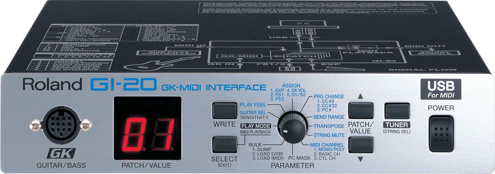 GI-20 | GK-MIDI Interface - Roland