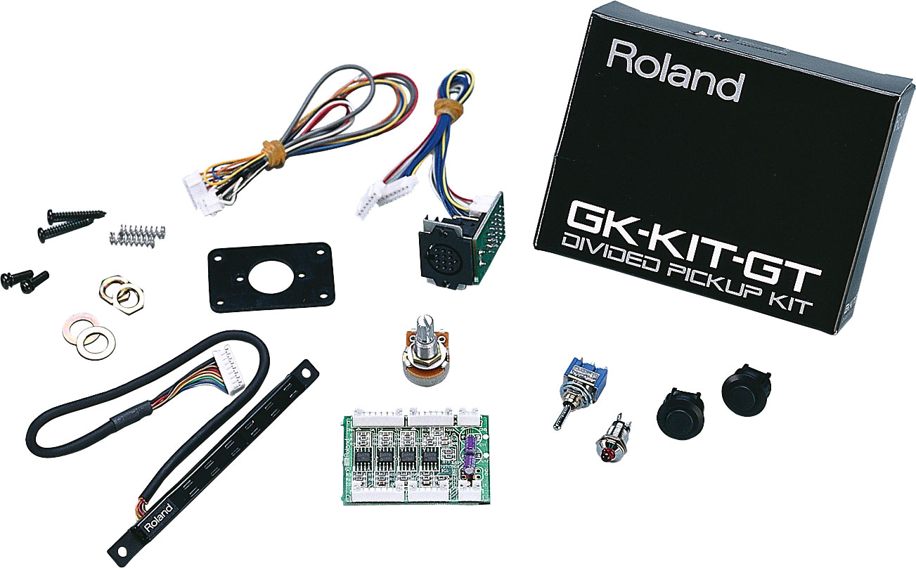 Roland Gk Kit Gt3 Divided Pickup Quick Connect Wiring Harness Gibson Les Paul