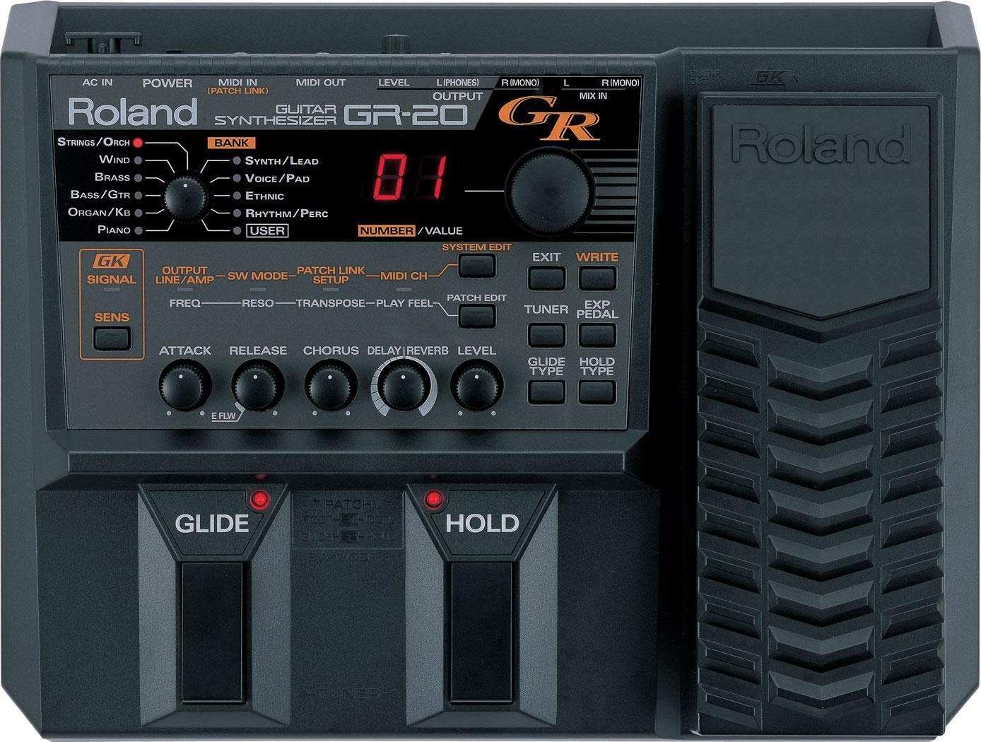Roland Gr 20 Guitar Synthesizer Mini Audio Signal Generator Online Repair Manual