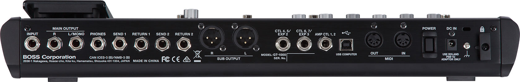 BOSS - GT-1000 | Guitar Effects Processor