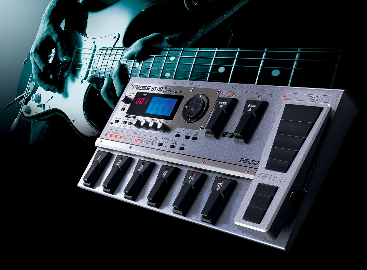 Boss Gt 10 Guitar Effects Processor Home Structured Wiring Channel Vision Panels And