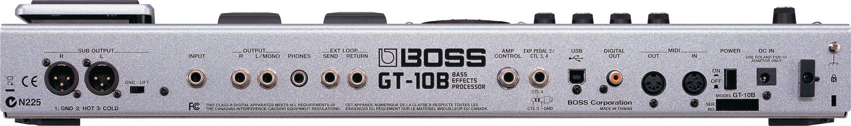 boss gt 10b bass effects processor rh boss info boss gt 10b manual gt 10 manual