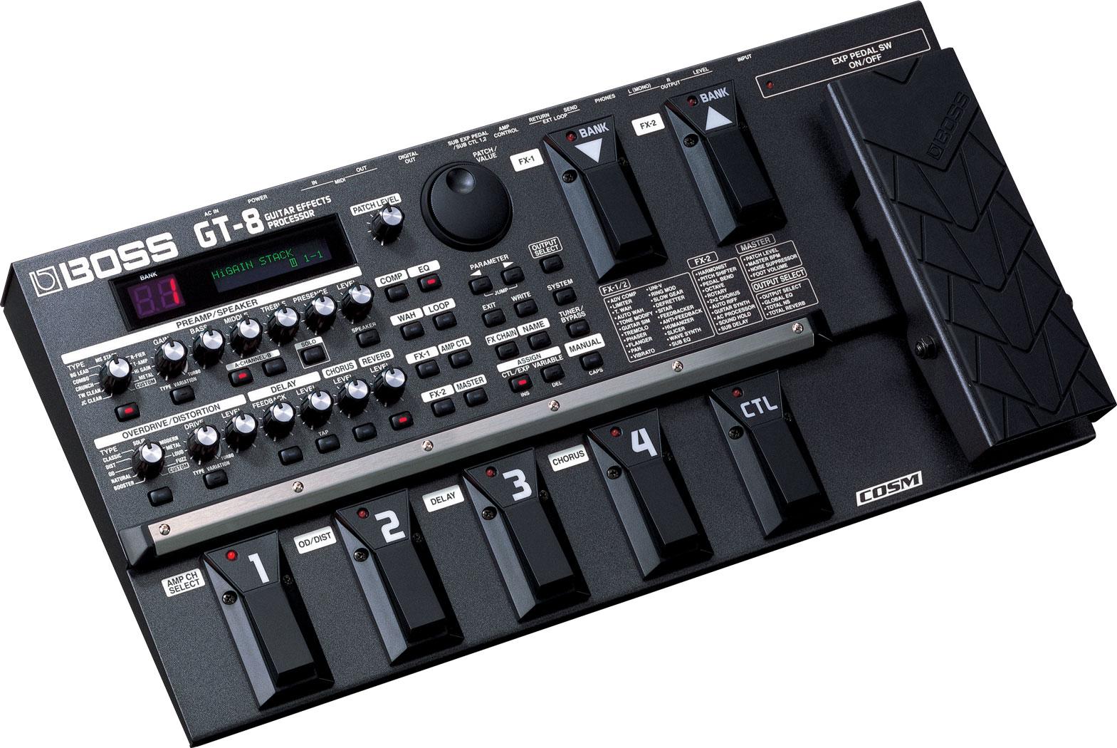 boss gt 8 guitar effects processor. Black Bedroom Furniture Sets. Home Design Ideas
