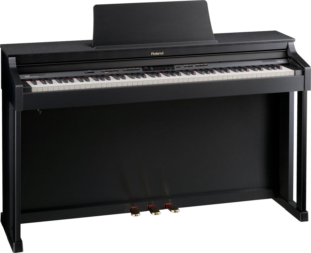 roland hp 302 supernatural piano. Black Bedroom Furniture Sets. Home Design Ideas
