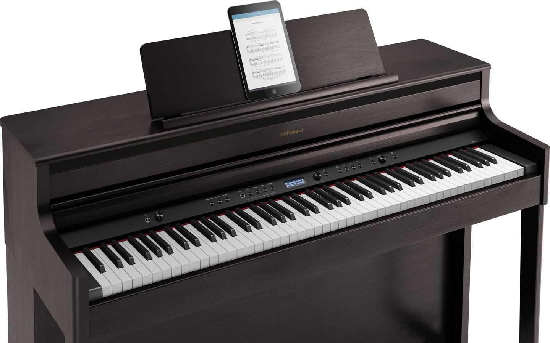 roland hp704 digital piano. Black Bedroom Furniture Sets. Home Design Ideas