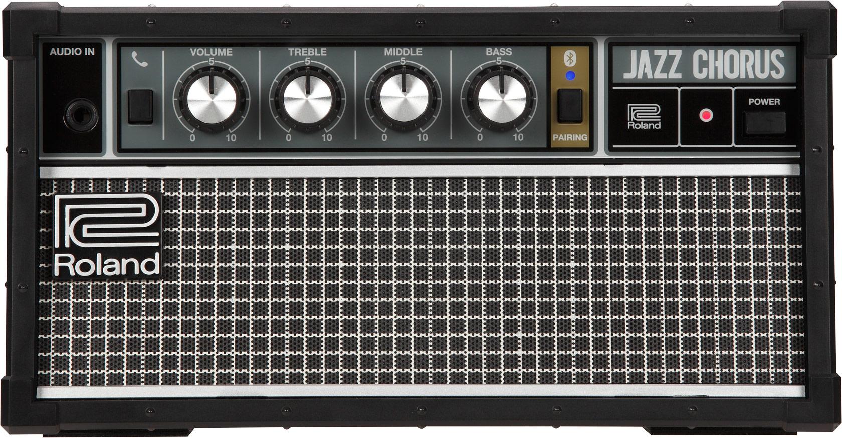 Roland Jc 01 Bluetooth Audio Speaker Power Amp Mid High Amplifier Portable