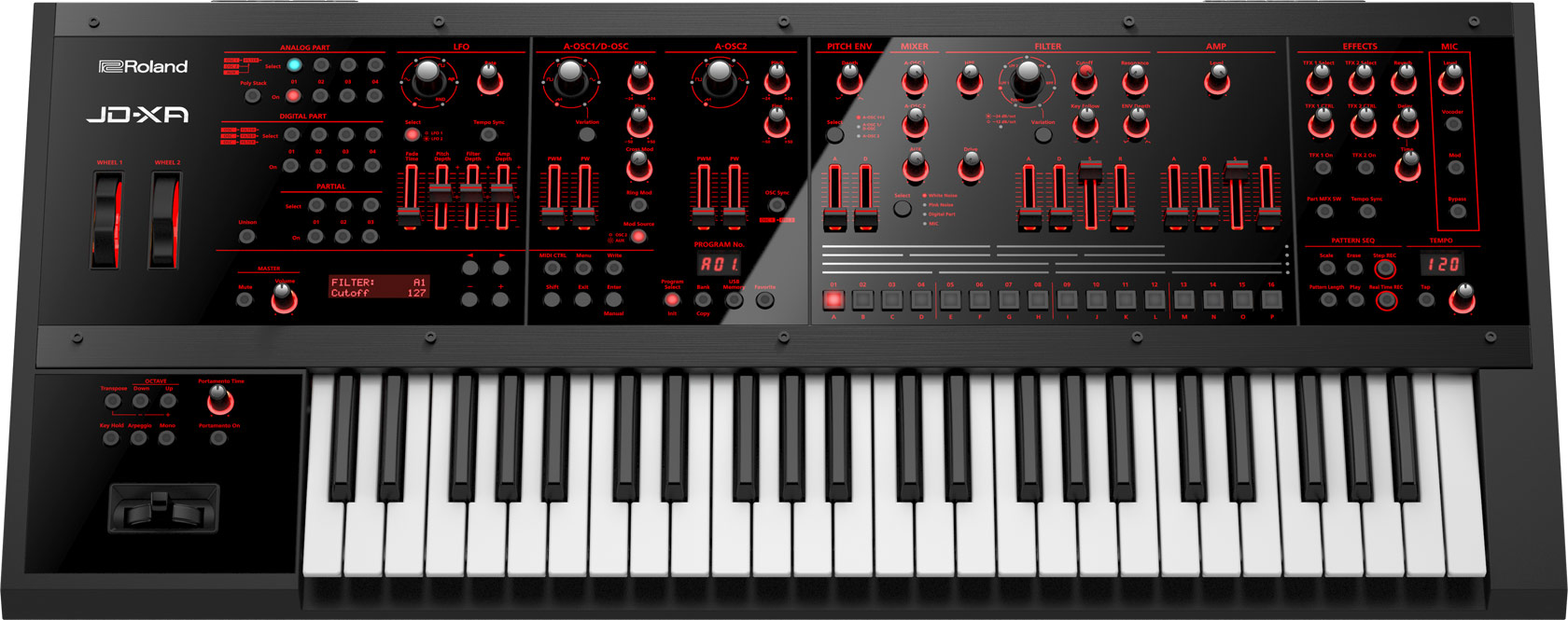 JD-XA Synth