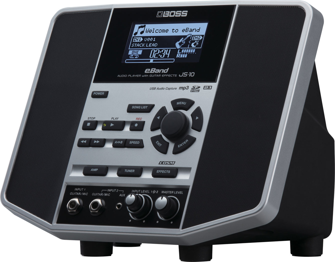 BOSS - eBand JS-10 | Audio Player with Guitar Effects