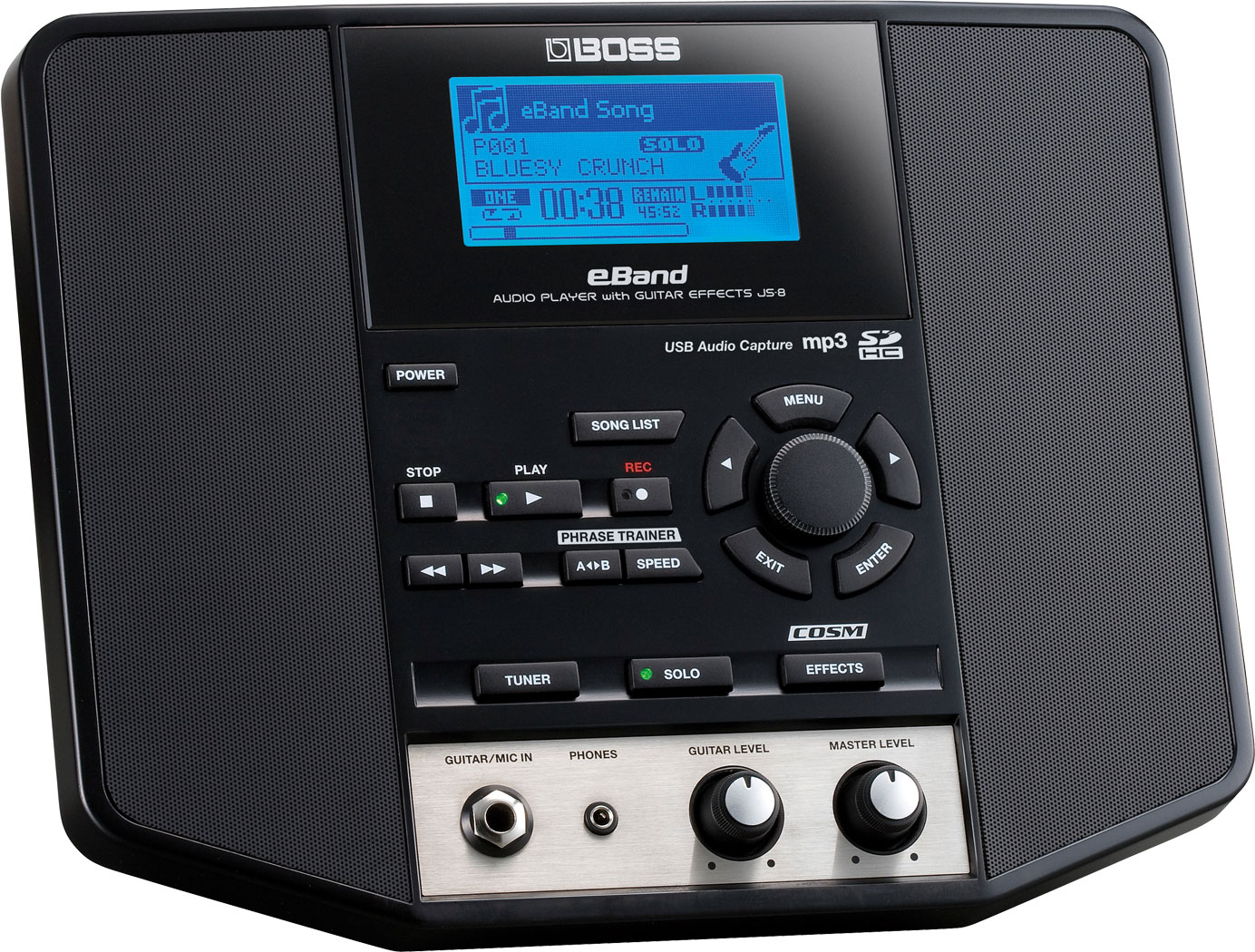 BOSS - eBand JS-8 | Audio Player with Guitar Effects