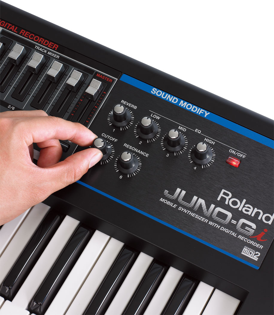 Roland juno gi mobile synthesizer with digital recorder sciox Images