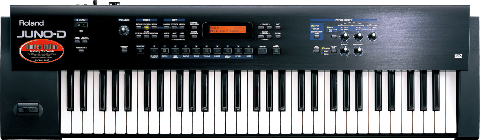 Roland - JUNO-D | Limited Edition Synthesizer