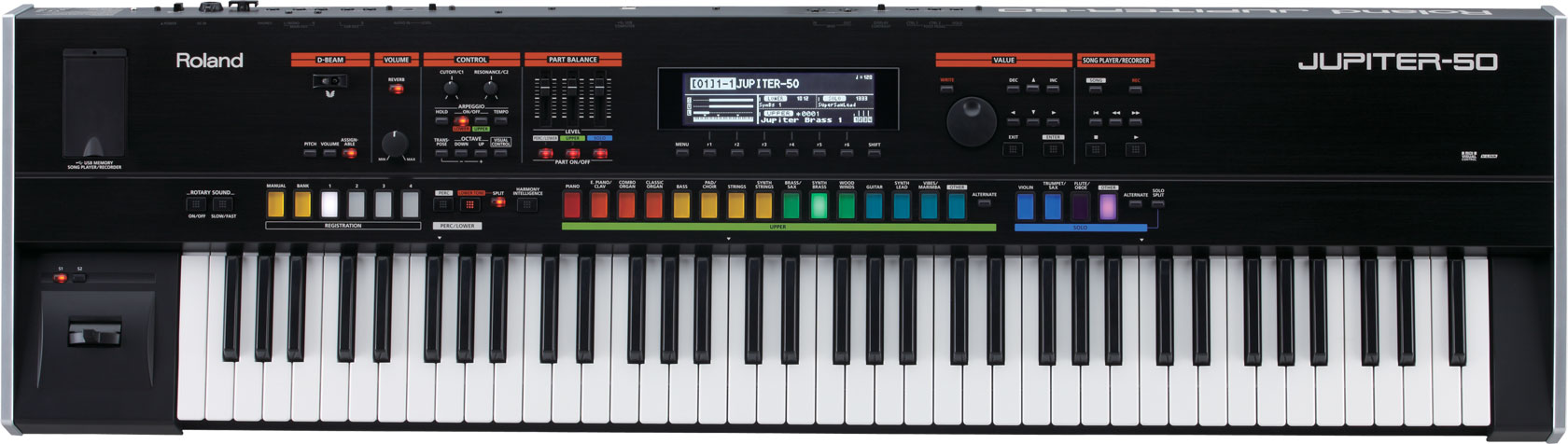 JUPITER-50 | Synthesizer - Roland