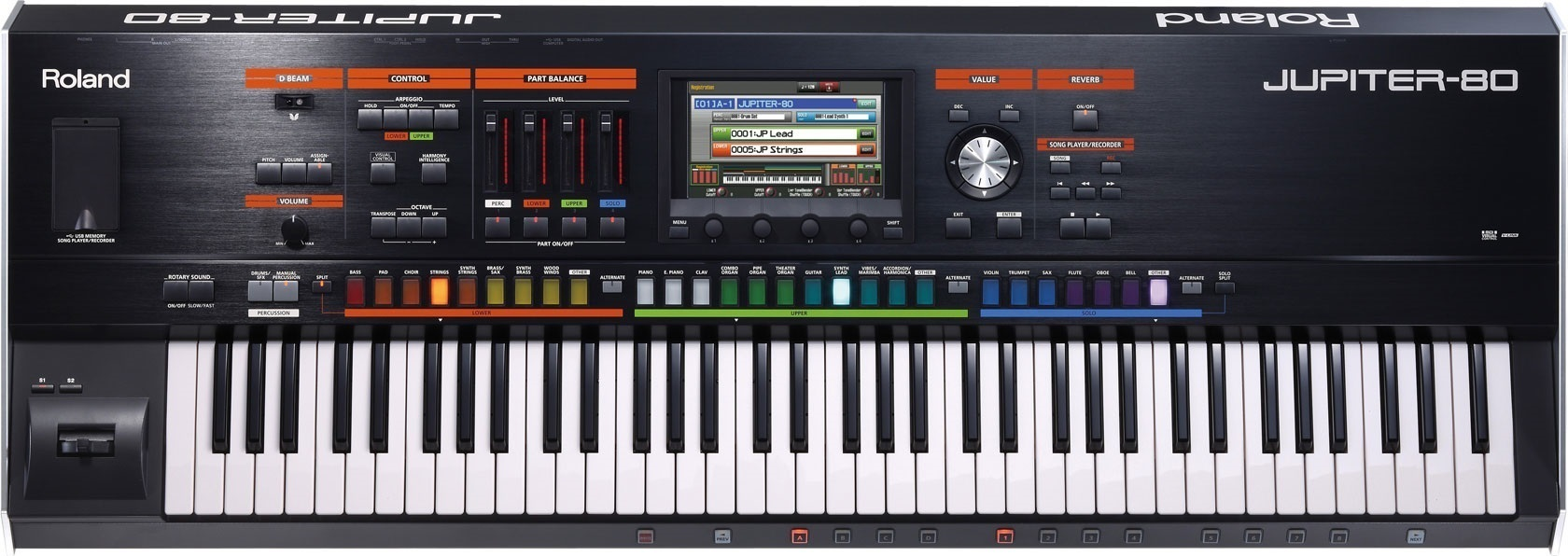 JUPITER-80 | Synthesizer - Roland